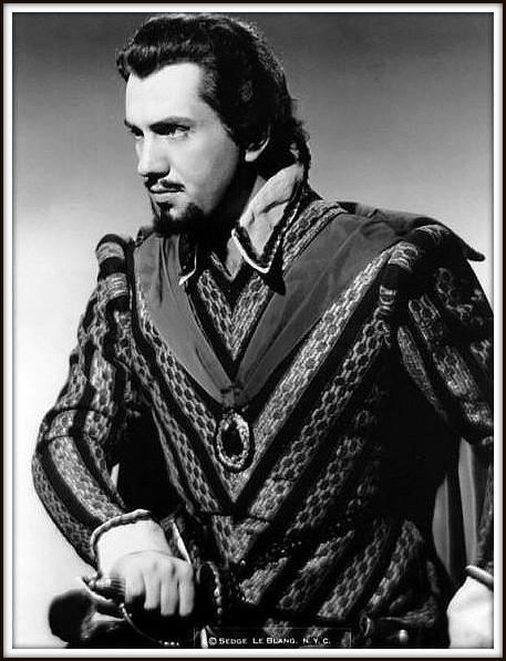 Rodrigo, Marchese di Posa - DON CARLO - Teatro Metropolitan N.Y. 28.1.1955