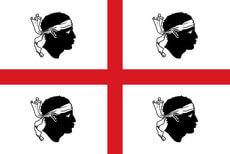 Sardinien Flagge