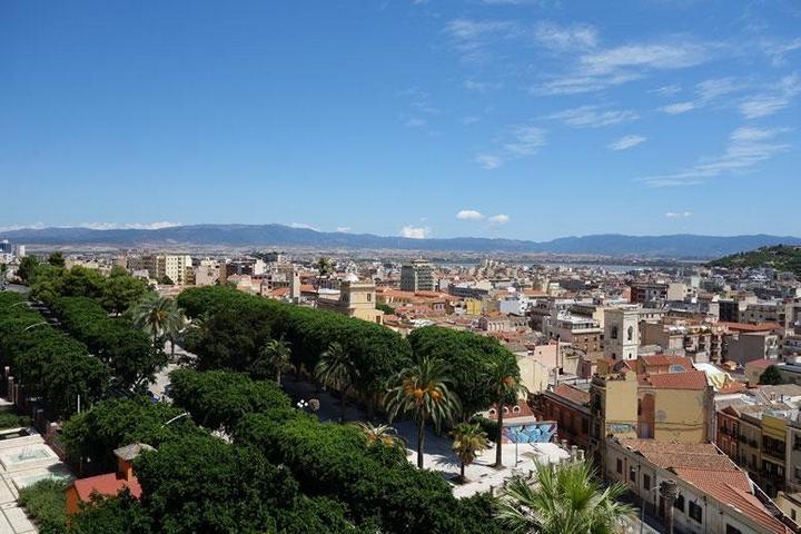 Bild: Sardiniens Hauptstadt Cagliari