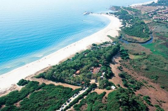 Campingplatz Campeggio Capo Ferrato Sardinien