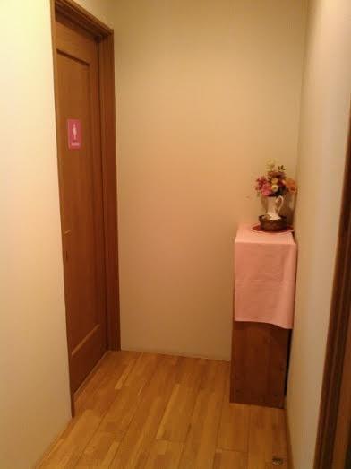 女子更衣室入口