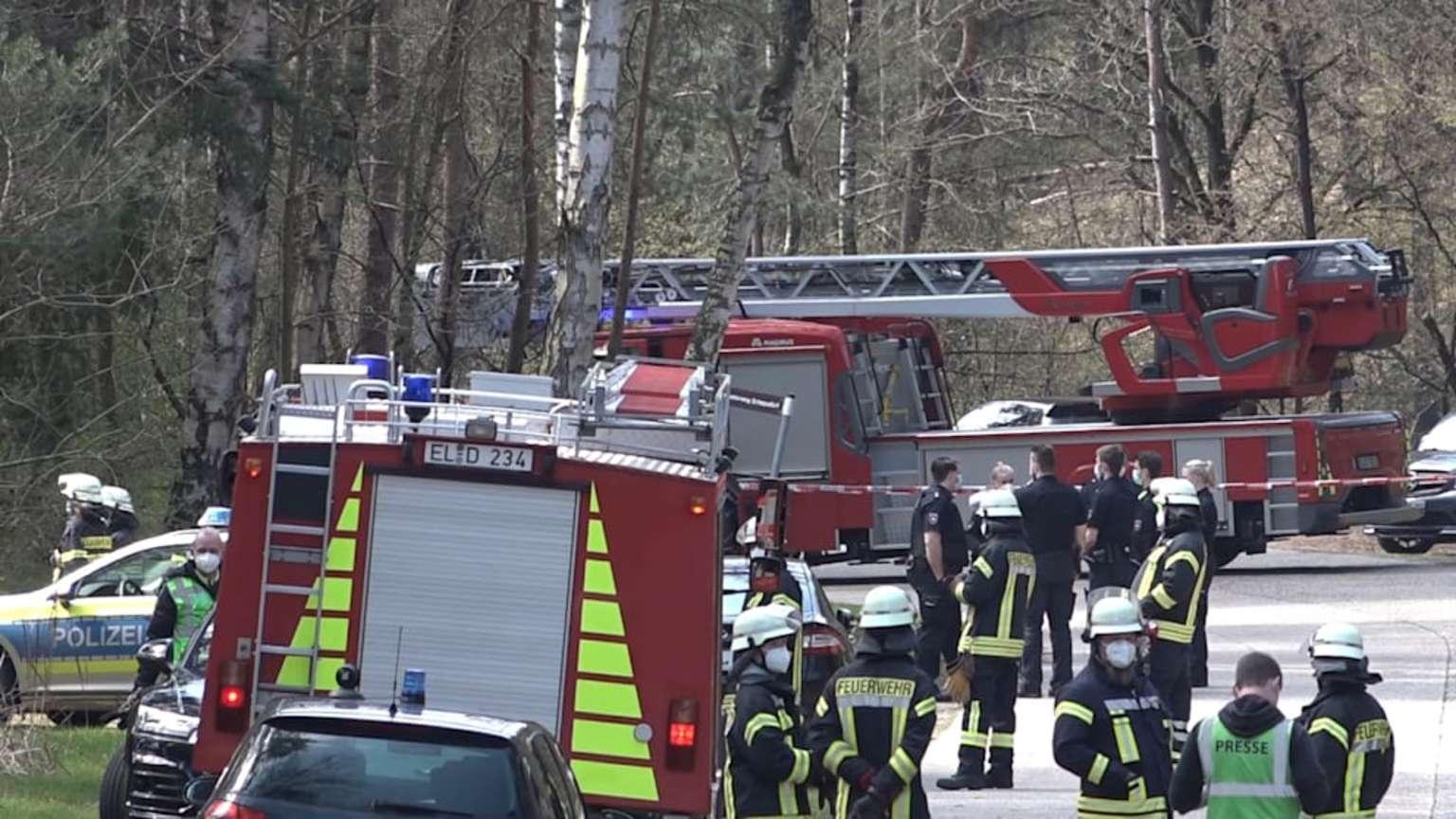 Pilot stirbt nach Flugzeug-Absturz bei Lingen