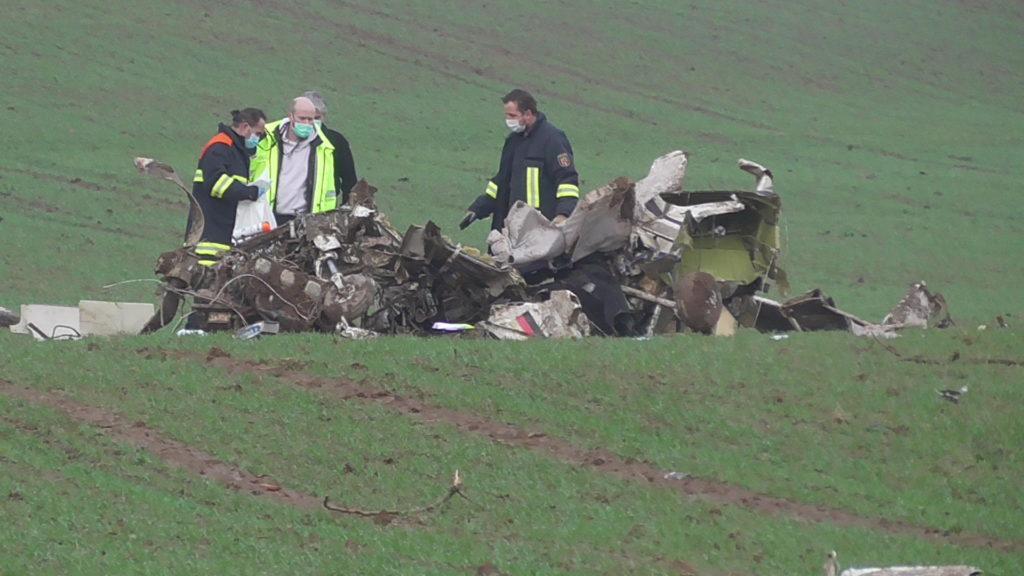 Österreichischer Pilot stirbt bei Flugzeugabsturz in Windpark Sefferweich