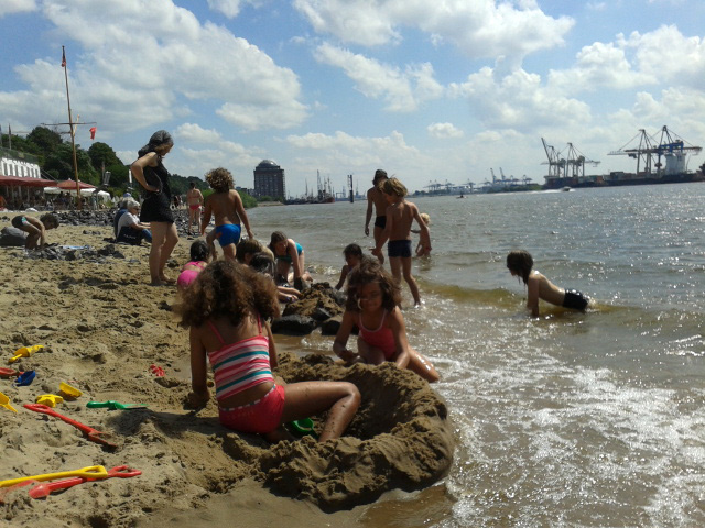 Ferienangebot: Elbstrand