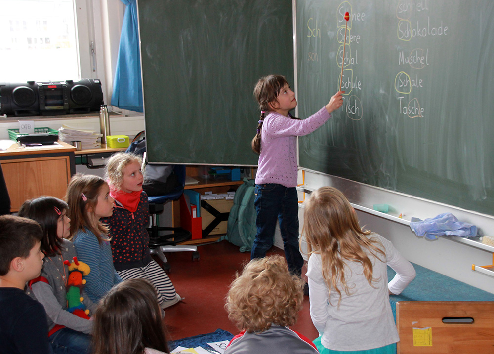 Erste-Klasse-Unterricht