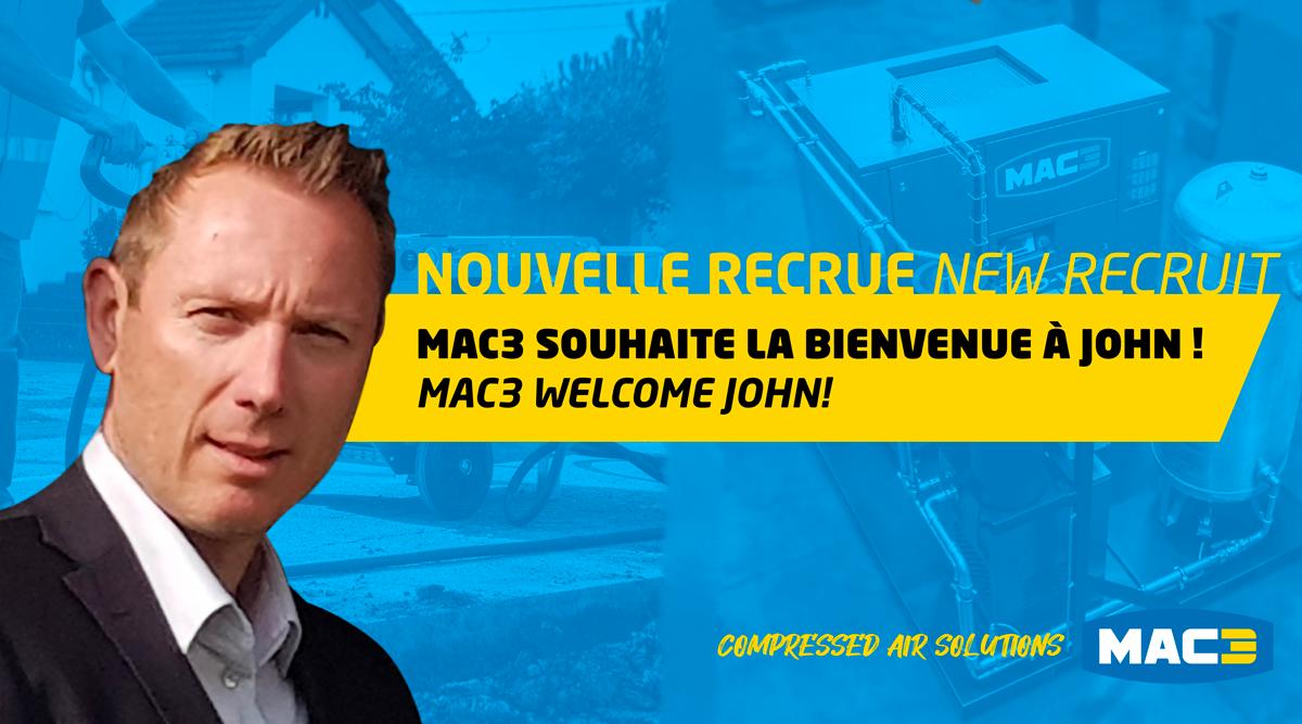 MAC3 renforce son équipe commerciale en France