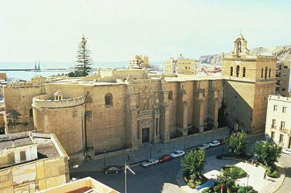 catedral de almeria,catedral fortaleza