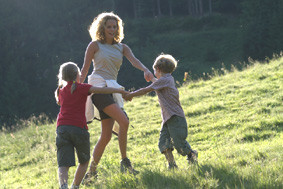 Familienurlaub Berge im Kleinwalsertal