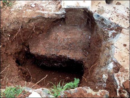 Reconnaissance de fondations - Villa E-1027