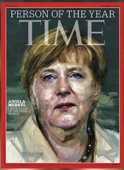 TIME誌 パーソン・オブ・ザ・イヤー 独メルケル首相
