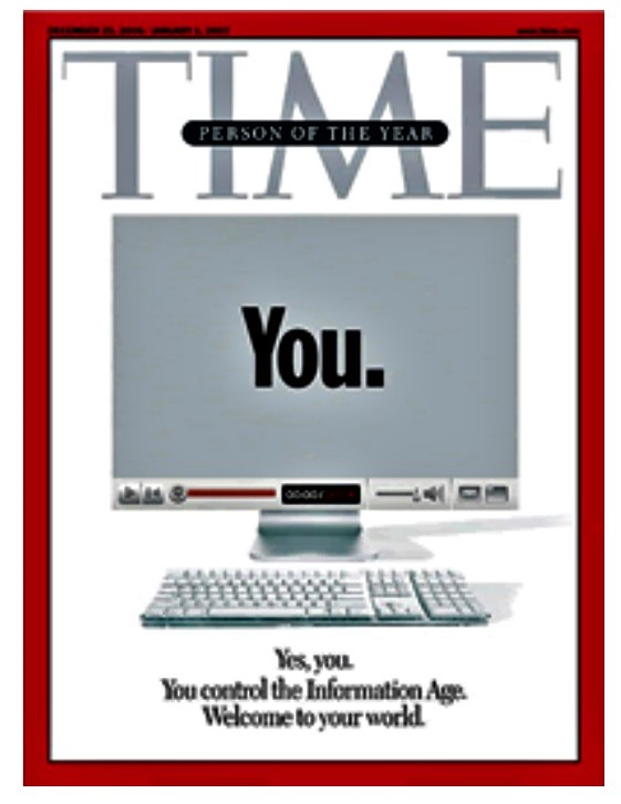 TIME誌 2006年パーソン・オブ・ザ・イヤー You