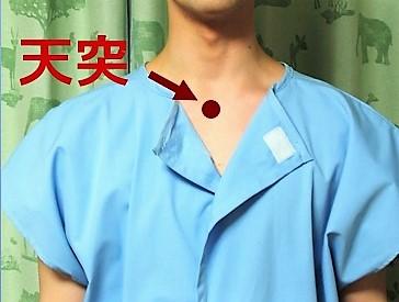あじさい鍼灸マッサージ治療院 咳を止めるときに使う経穴