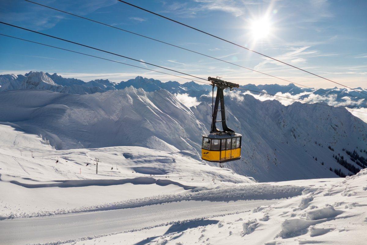 Nebelhornbahn im Winter © Oberstdorf / Kleinwalsertal Bergbahnen