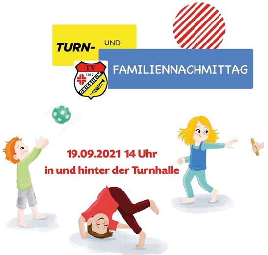 Turn- und Familiennachmittag beim TV Griesheim am 19. September 2021