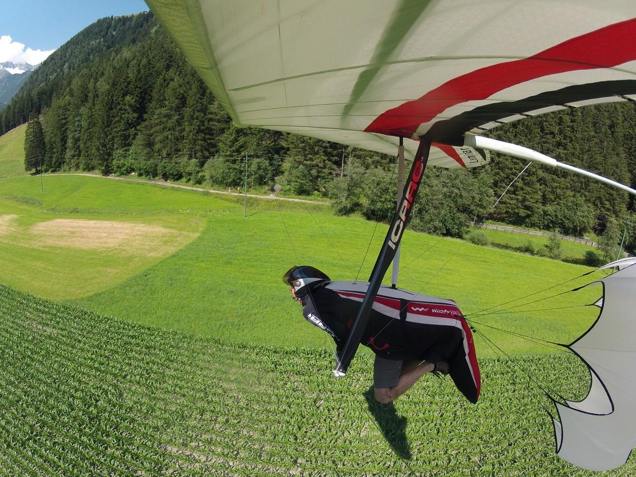 Landung in Luttach
