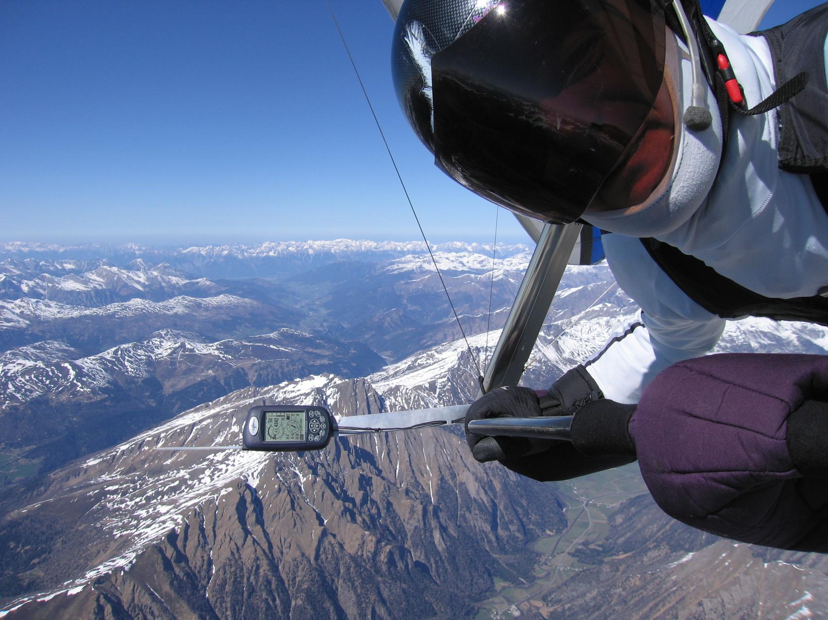15. April 2007 Sicht Richtung Innsbruck