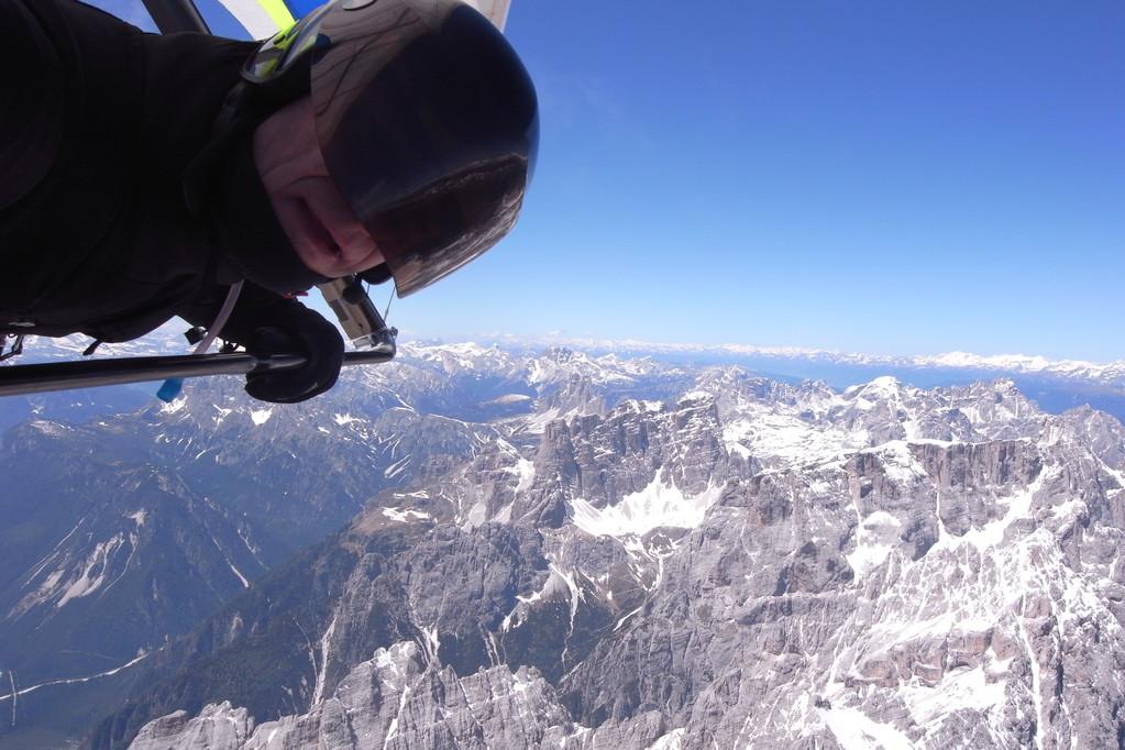 Sextner Dolomiten aus südost mit 3 Zinnen