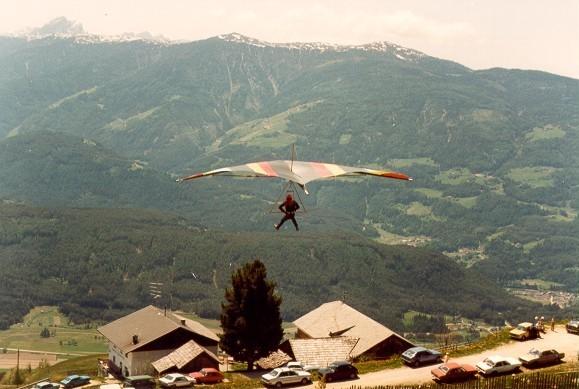 Einer der ersten Höhenflüge von Platten
