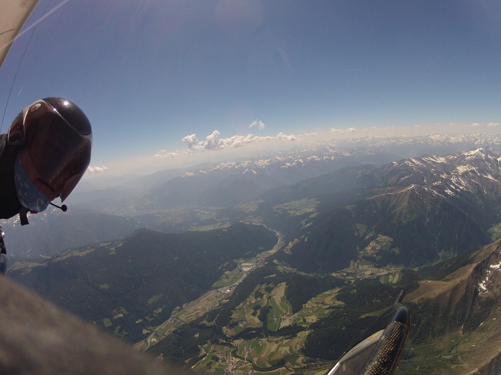 Terenten Richtung Brixen