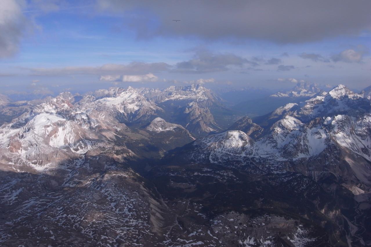 Sennes, Richtung Cortina von Norden