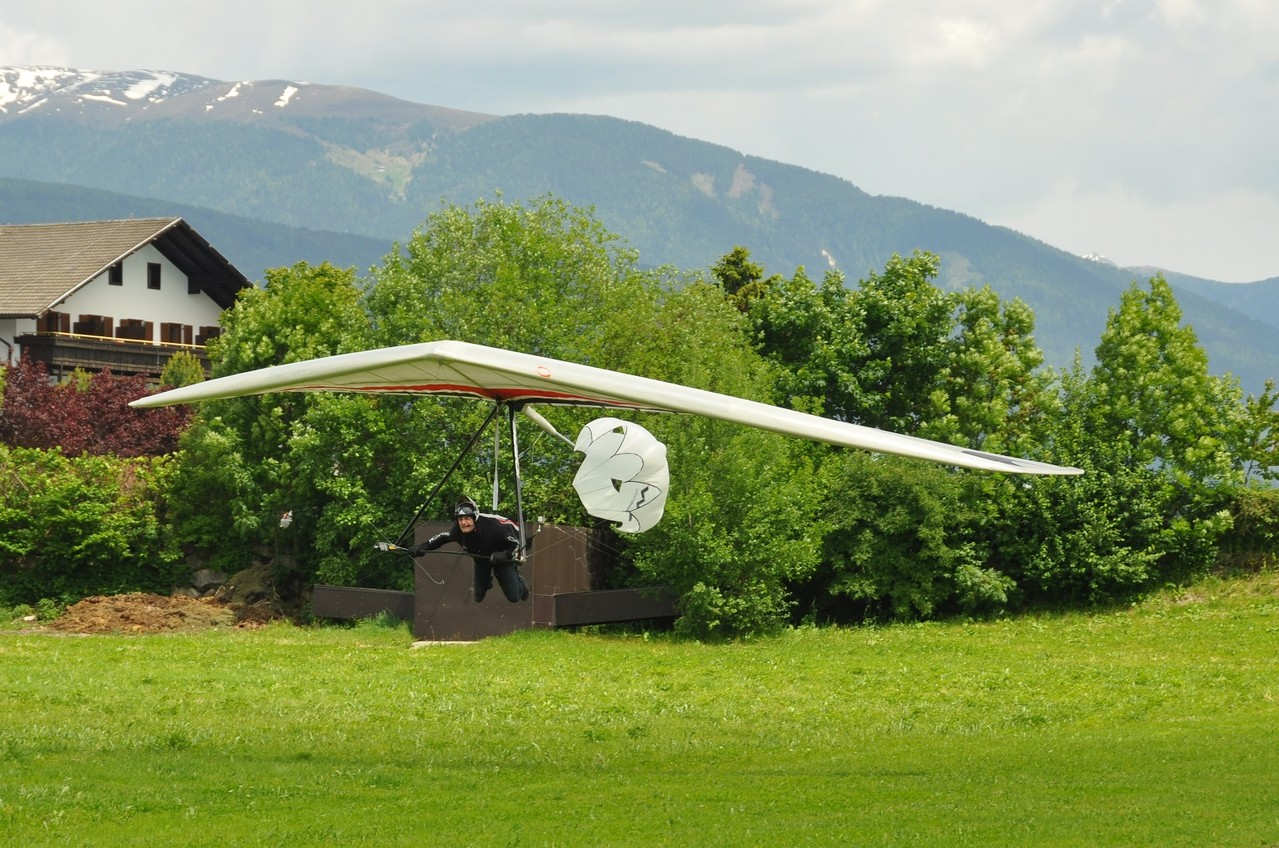 Landung in Pfalzen