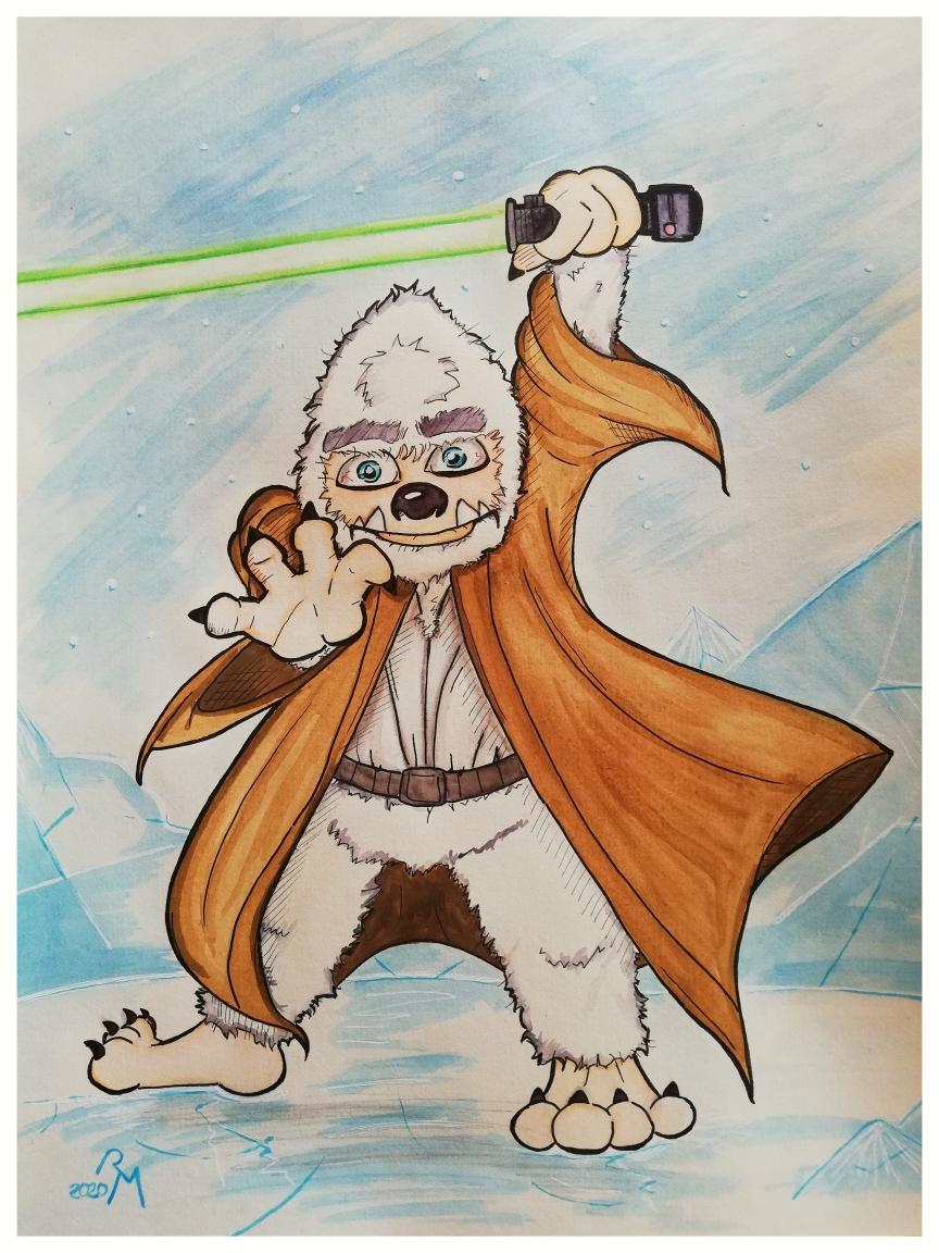 Yeti-Ritter - Jedi Ritter