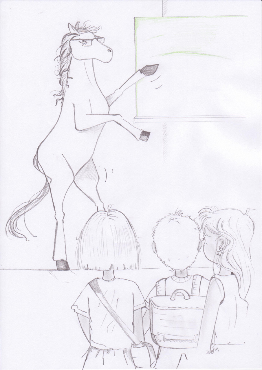 """""""Lehrer-Pferd"""""""