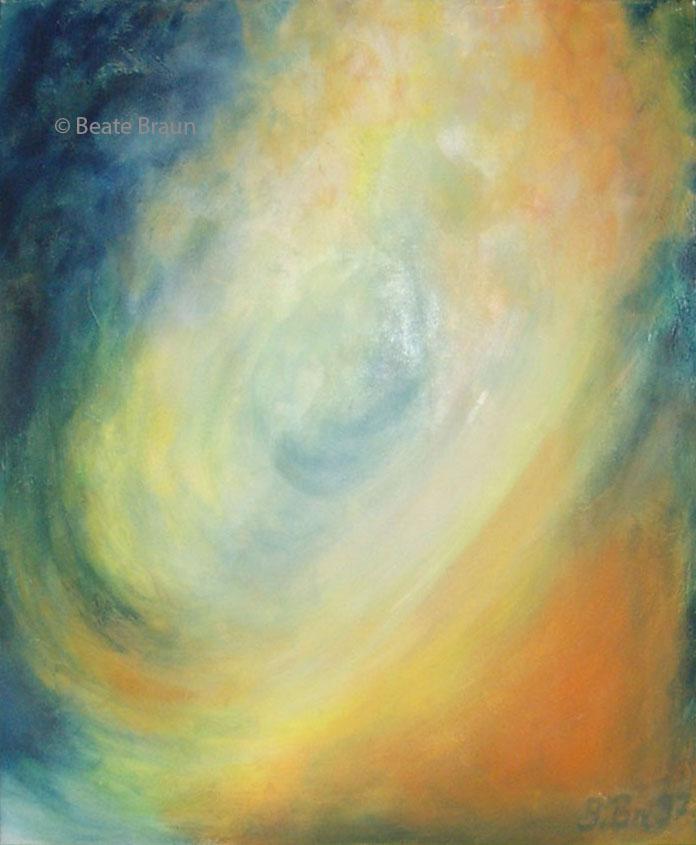 Da-Sein | 50 x 70cm | Acryl auf Leinwand | 1997