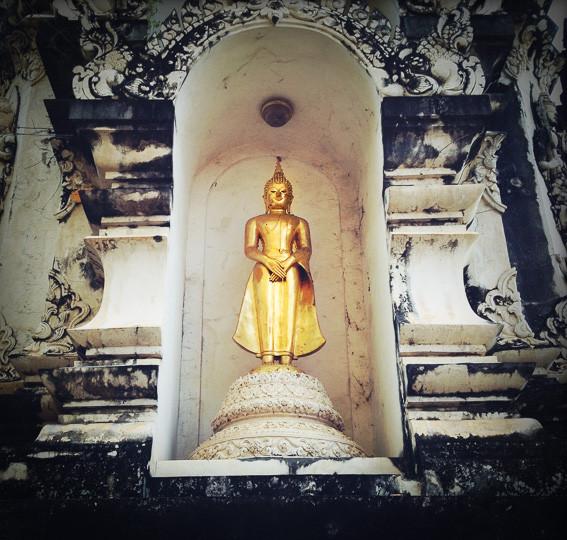 BILDERBOGEN MIT BUDDHAS