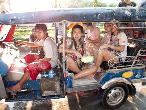 songkran bangkok thailand