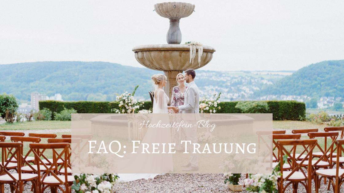 FAQ: Freie Trauung - Im Interview mit Traurednerin Constanze von der Agentur Trauzeiten