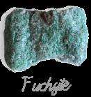Fuchsite,  pierre gemme, Pierres de Lumière Saint Rémy de Provence, pierre roulée, pierre brute, galet, lithothérapie, vertus, propriétés, ésotérisme
