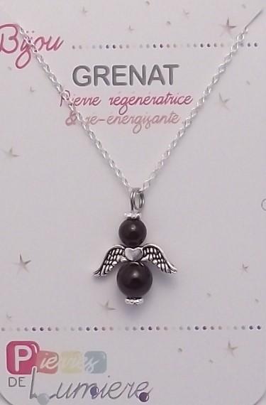 grenat, ange, bracelet, pierres gemmes, vertus, propriété, lithothérapie, bijoux