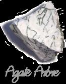 Agate arbre Pierres de Lumière Saint Rémy de Provence, pierre roulée, pierre brute, galet, lithothérapie, vertus, propriétés, ésotérisme