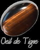 Oeil de tigre,  pierre gemme, pierre roulée, pierre brute, galet