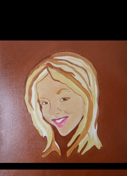 Nana - oil on canvas cm.40 x 30 2009