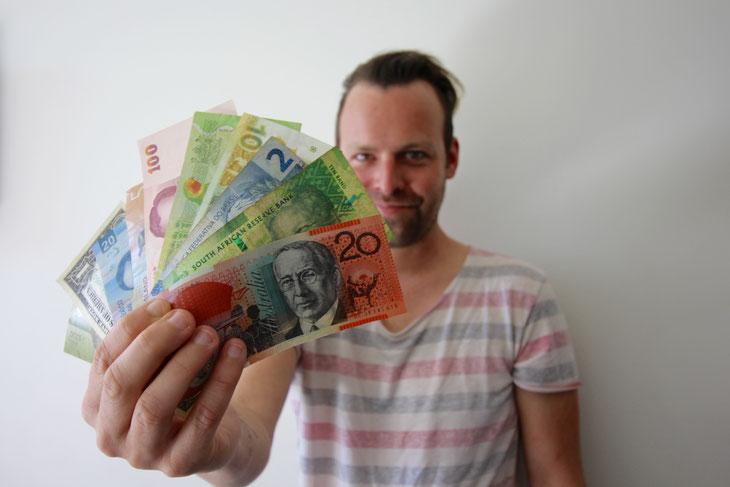 Weltreise sparen kosten Langzeitreise Wieviel Geld brauche ich? Wieviel kostet eine Weltreise? Reisekosten planer