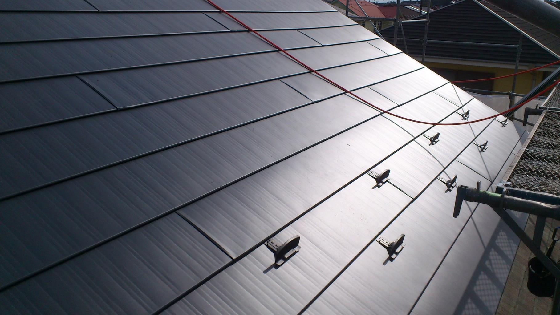 屋根吹き替え・耐震軽量化