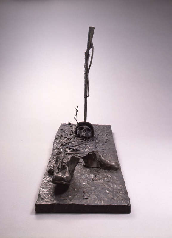 Landscape / bronze / 49.5×24.0×88.0cm / 1995 「風景」ブロンズ