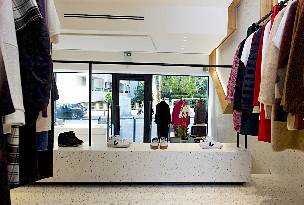 Banc - Mobilier Granito / Terrazzo - AD LUCEM