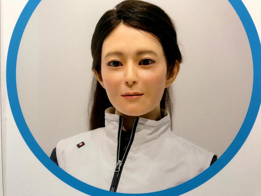 オトナロイドは遠隔操作型ロボット。全長125mm重量350g