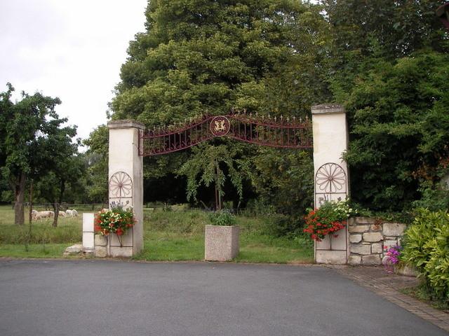 Le porche du Chateau