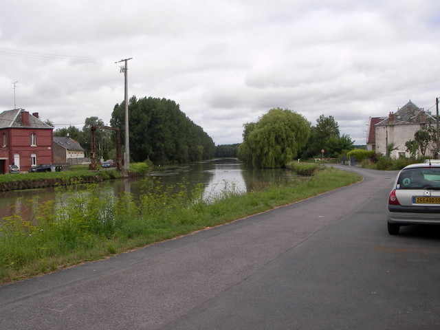 Le canal au Bassin rond