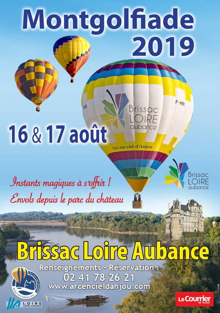 montgolfiere brissac Loire Aubance montgolfiades chambres d'hotes anjou