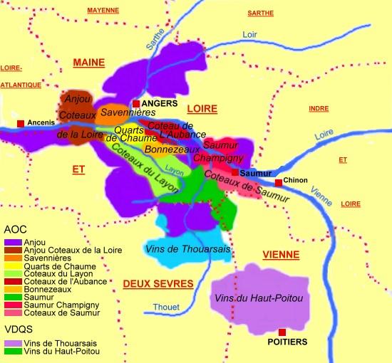 L'Anjou et la douceur angevine