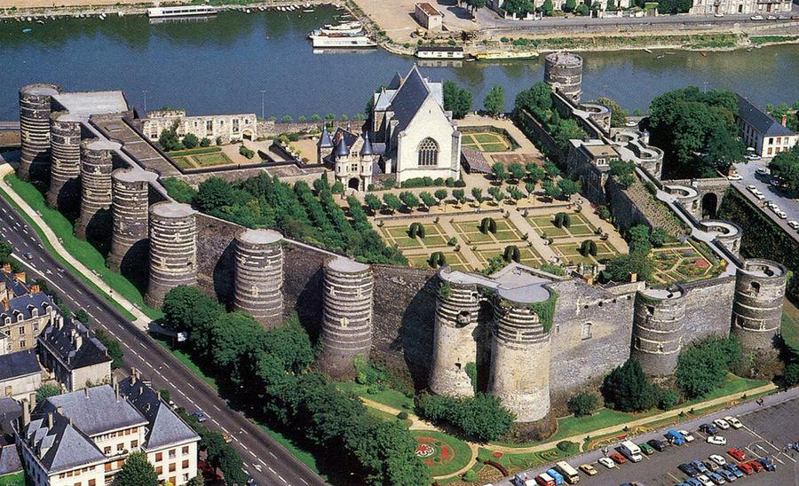 Chateau d'Angers près chambres d'hotes du Haut Anjou