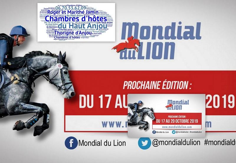 A 3 minutes des chambres d'hotes du Haut Anjou à Thorigne d'Anjou