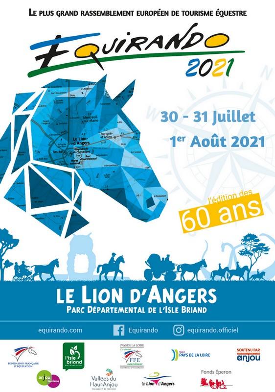 Equirando 2021 Lion d-Angers