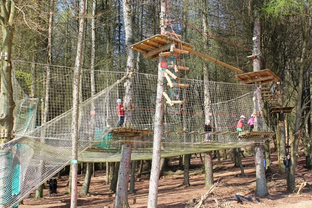 Center Parcs Bostalsee - Kinder-Kletter-Parcours & High Adventure