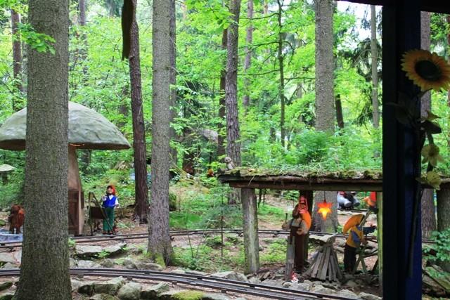 Freizeitpark Plohn - Wichtelbahn im Zwergenland